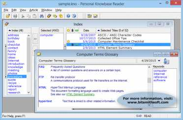 Download Personal Knowbase Reader