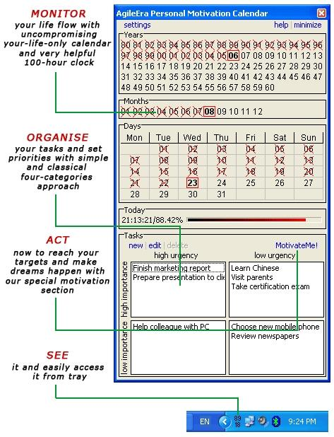 Download Personal Motivation Calendar