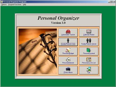 Download Personal Organizer