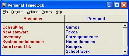 Download Personal Timeclock