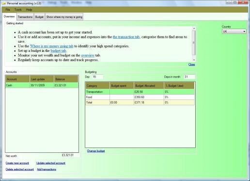 Download PersonalAccountingSoftware
