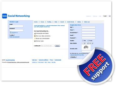 Download PG Social Networking software
