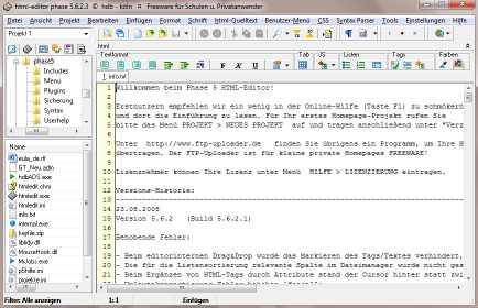 Phase 5 HTML Editor