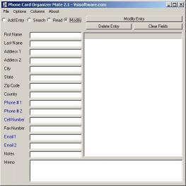 Download Phone Card Organizer Mate