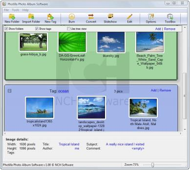 Download Photilla Photo Album Software