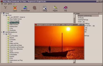 Download Photo Album Downloader for Yahoo