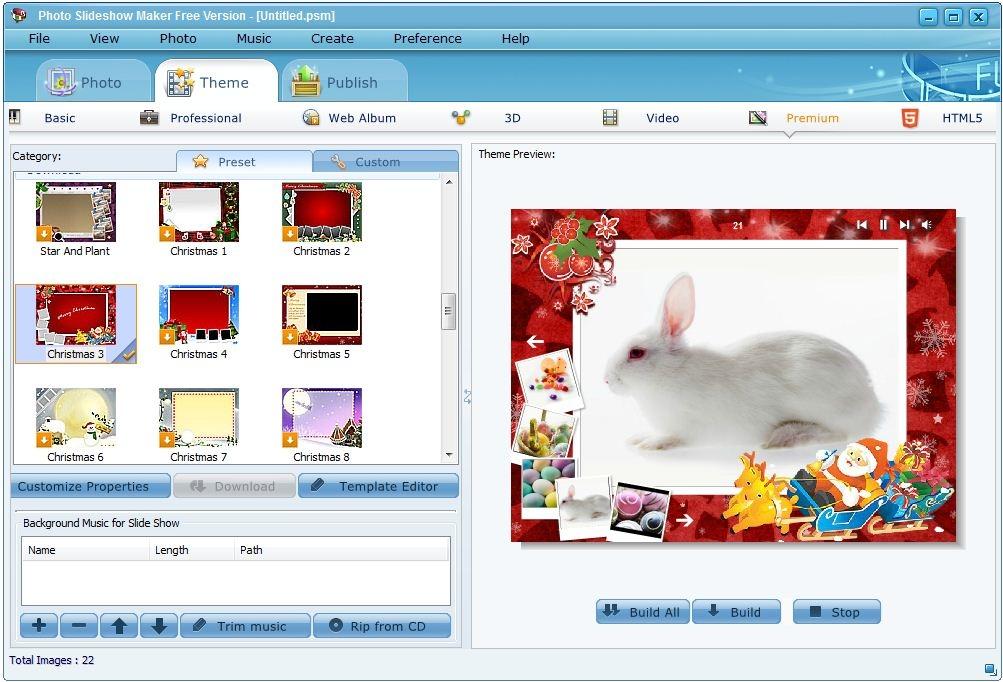 Photo Slideshow Maker Free Version - standaloneinstaller com