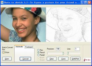 Download Photo to Sketch Std
