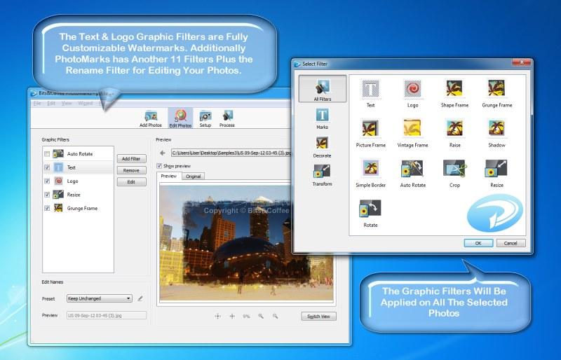 PhotoMarks - Batch Watermark Photos