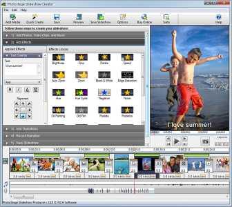 Download PhotoStage Photo Slideshow