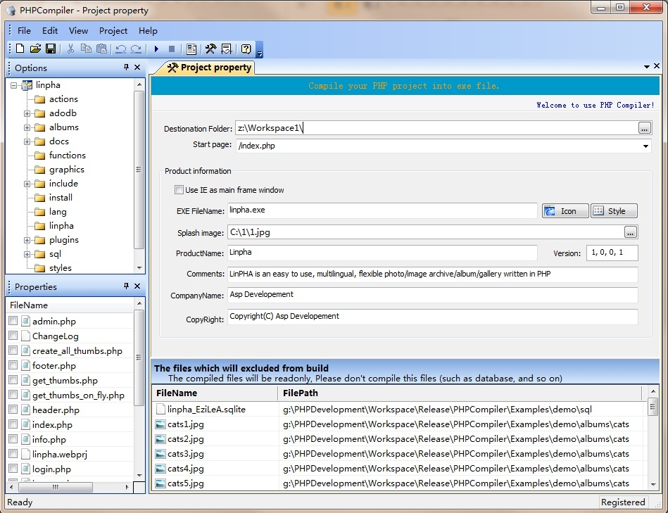 PHP Compiler - standaloneinstaller com