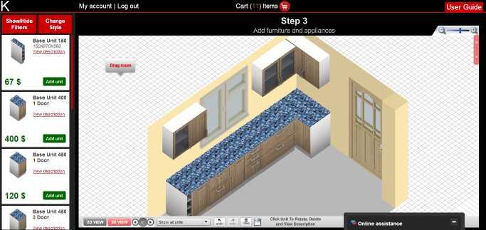 Download php Kitchen Planner