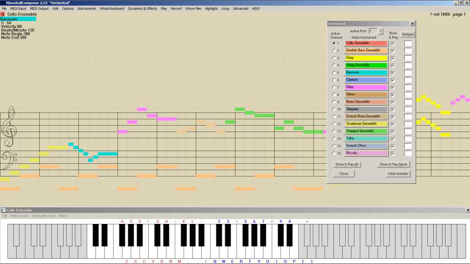 PianoRollComposer