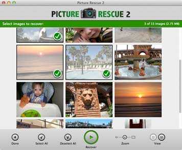 Picture Rescue 2 for Mac
