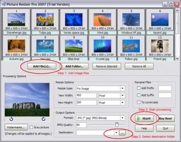 Download Picture Resizer Pro 2007