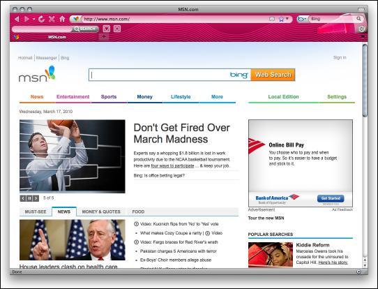 Download Pink Crayon Internet Explorer Theme