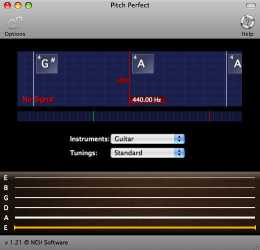 PitchPerfect Free Musical Instrument and Guitar Tuner for Mac