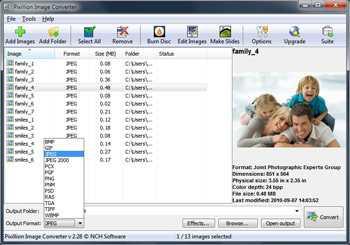 Pixillion Free Converter for Pocket PC