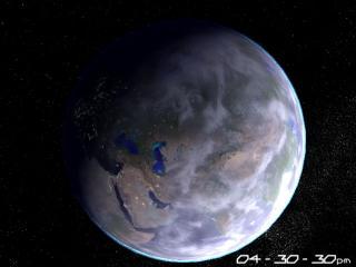 Download Planet Earth 3D Screensaver