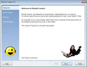 Download Playlist Creator for BlackBerry Pearl