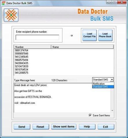 Download Pocket PC Bulk SMS Program
