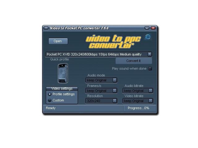 Tcpmp v0. 72rc1 freeware for windows mobile phone.