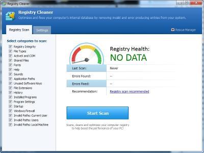 Download Pointstone Registry Cleaner
