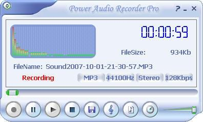 Download Power Audio Recorder Pro