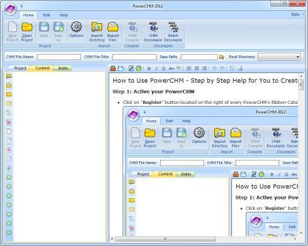 Download PowerCHM 2012