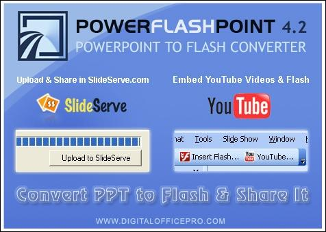 Download PowerFlashPoint - PPT TO FLASH Converter