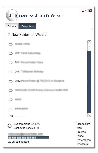 Download PowerFolder