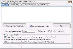 Download Powerpoint encryption advanced tool