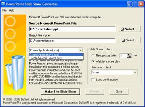 Download PowerPoint Slide Show Converter