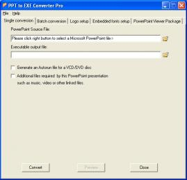 Download PPT to EXE Converter Pro