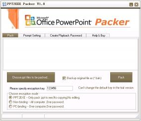 Download PPT2EXE Packer