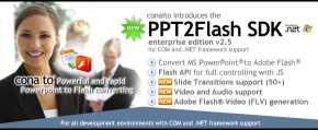 PPT2Flash SDK for .NET ASP.NET COM