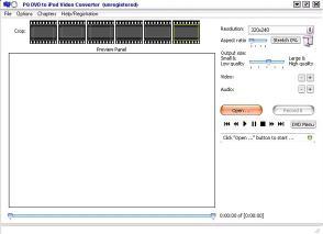 Download PQ DVD to iPod Video Converter f3.52