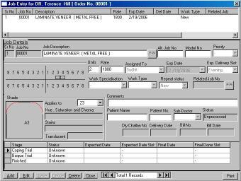 Download Precise Dental Lab Management Software