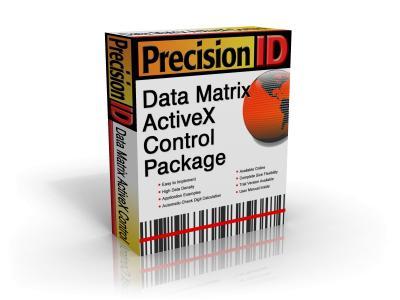 Download PrecisionID Data Matrix ActiveX Control