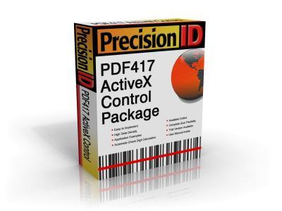 Download PrecisionID PDF417 ActiveX Control