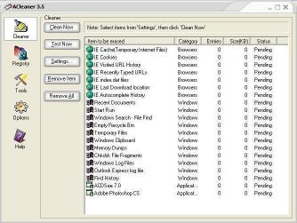 Download Privacy and Registry Cleaner