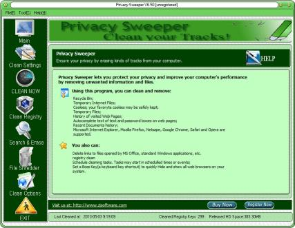 Download Privacy Sweeper