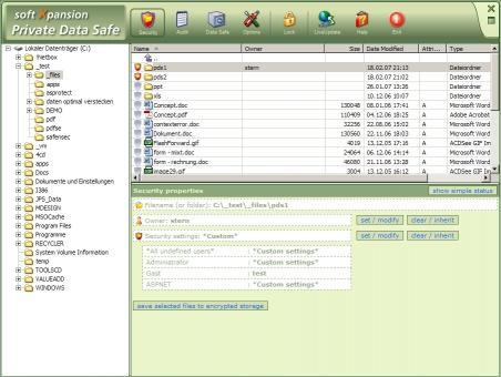 Download Private Data Safe
