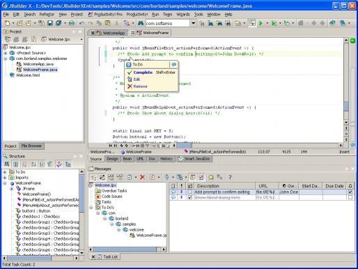 Download Productivity! Professional for JBuilder