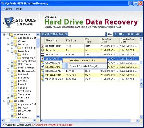 Download Professional Data Restore Software