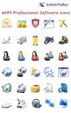 Download Professional Vista Software Icons