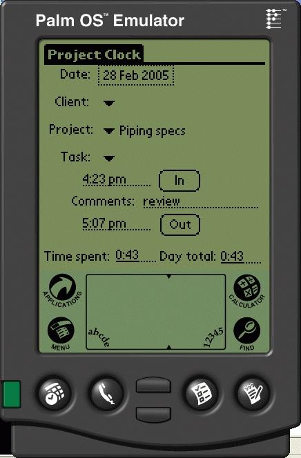 Download Project Clock Palm