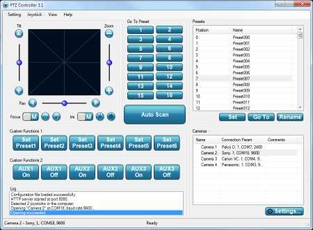 Download PTZ Controller