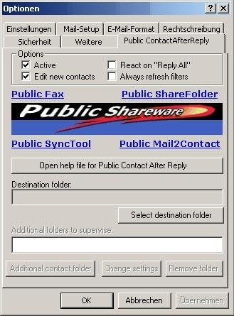 Download Public Contact After Reply for Outlook