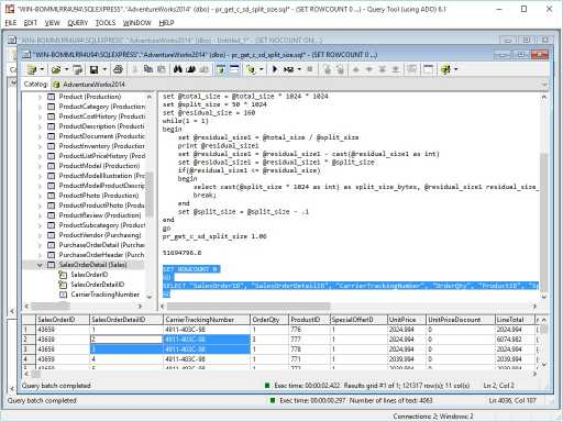 Download Query Tool (using ADO)